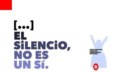 Una coma de más contra las agresiones sexuales en las fiestas de Bilbao
