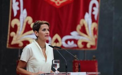 Chivite señala la convivencia como su principal «reto» tras asumir la Presidencia de Navarra