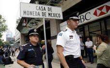 Roban dos millones de euros en oro en la Casa de la Moneda de México