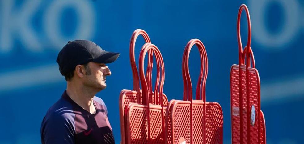 El Barça de Ernesto Valverde, un rompecabezas por encajar