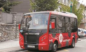 El servicio del bus Manttangorri sigue funcionando igual en agosto