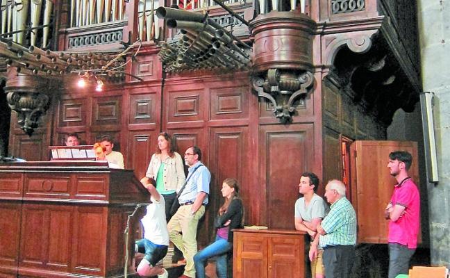 La Quincena reúne a jóvenes organistas
