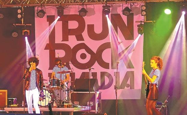 Un concierto celebrado en en el marco del Irun Rock./F. DE LA HERA
