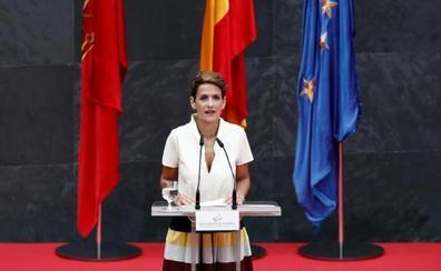 Chivite ve ahora en EH Bildu «una fuerza parlamentaria más» con la que tendrá que negociar