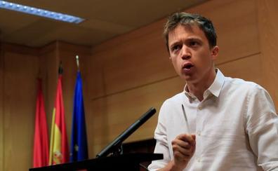 Errejón llama a frenar la investidura de la «sospechosa» Díaz Ayuso