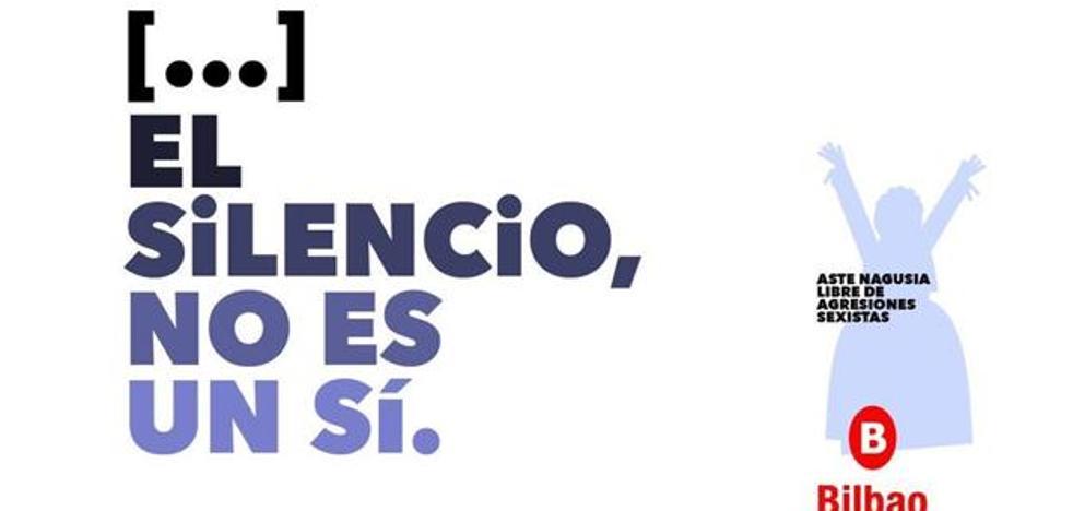 El Ayuntamiento de Bilbao lamenta que «estemos hablando de una coma y no del fondo de la campaña» contra las agresiones