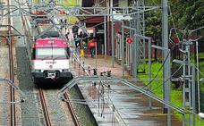 Adif ampliará la longitud de las vías en la estación de tren de Lezo-Errenteria