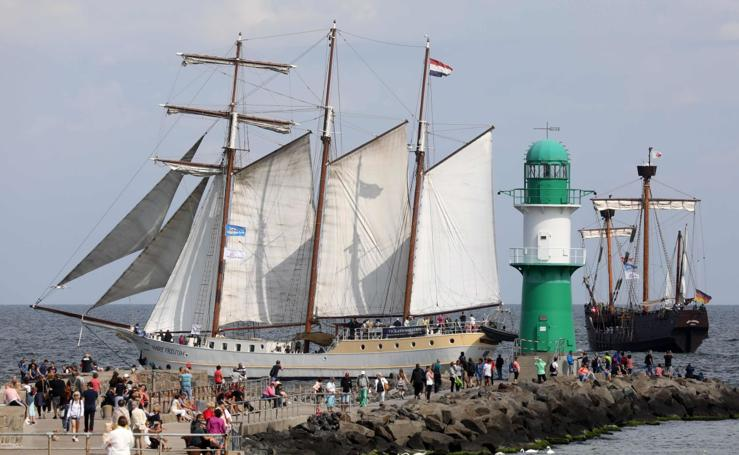 Festival marítimo Hanse Sail