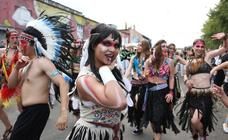 Vulica, el carnaval brasileño de Bielorrusia
