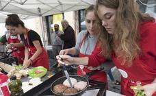 Creatividad en el concurso gastronómico de Semana Grande