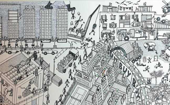 Arquitectos guipuzcoanos se estrenan en la exposición de arte Ligne et Couleur de París