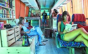 Desde Irun hasta Irán en autobús