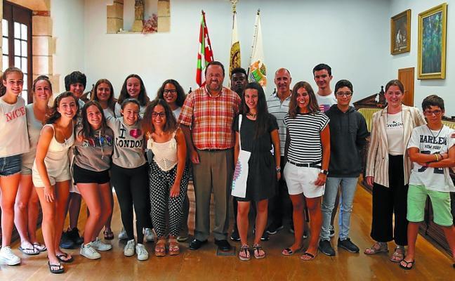 Reconocimiento a los jóvenes de Hondar Kirolak