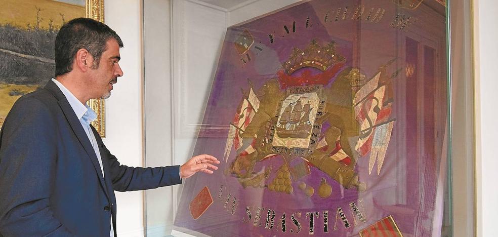 La bandera que popularizó la tripulación del 'Conchita'