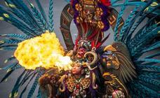 Dragones, calaveras y plumas para el mejor carnaval