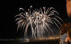 Buen debut de la pirotecnia italina Scarsella Fireworks