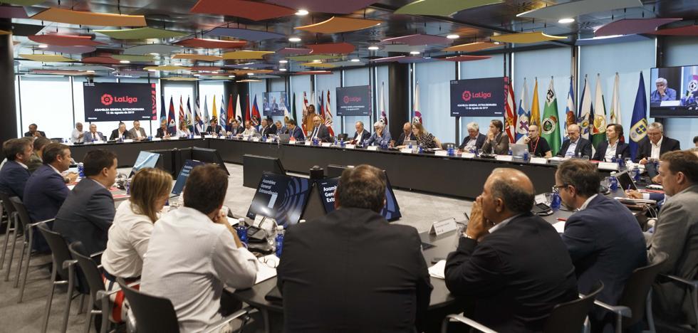 Los clubes rechazan negociar con la Federación sobre la jornada