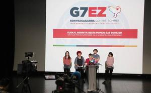 Las plataformas contra el G-7 organizan una contracumbre «pacífica» en Ficoba