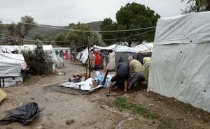 Zaporeak alerta de la «escalada de tensión» en Lesbos