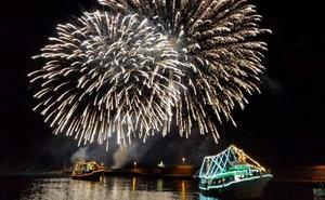 Fuegos artificiales: Un espectáculo «típico italiano» para esta noche en La Concha
