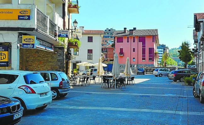 La plaza de Ergobia será solo peatonal desde el día 27