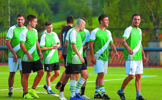 Los equipos de fútbol base del Allerru comienzan su pretemporada