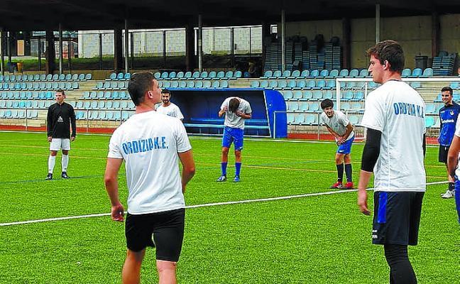 Los equipos sénior del Ordizia KE ya han dado comienzo a la pretemporada