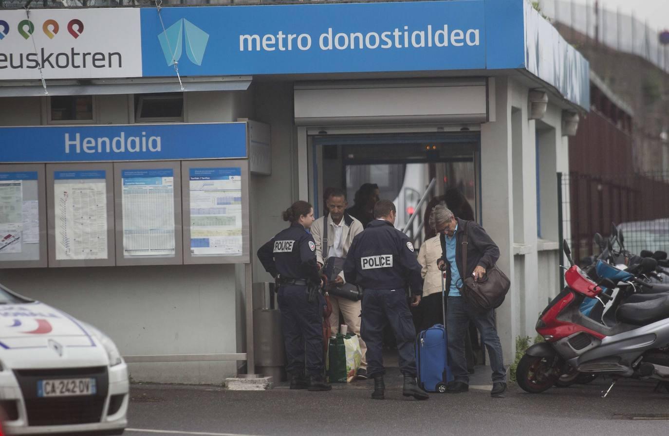 La estación de Euskotren en Hendaia permanecerá cerrada del 18 al 26 de agosto por la cumbre del G7