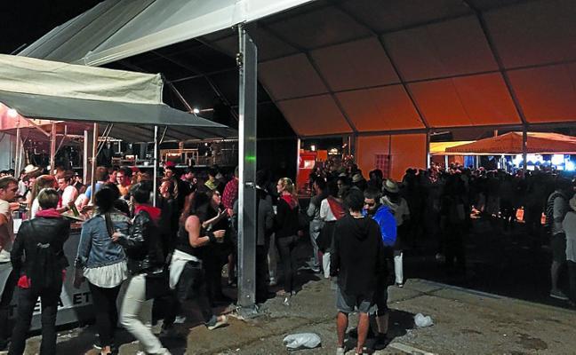 El plazo para solicitar la instalación de una txosna en fiestas acabará este lunes