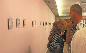 Más de medio centenar de obras se han presentado al certamen '18 cm'