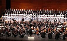 Concierto del Orfeón en Arantzazu