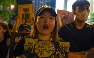 Nacionalismo contra las protestas de Hong Kong