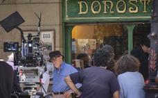 Woody Allen pone fin a su rodaje en Donostia una semana antes de lo previsto