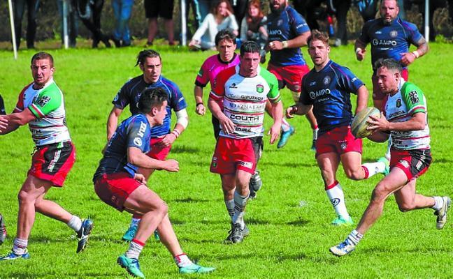 Partido en Landare de la Basque Rugby Challenge