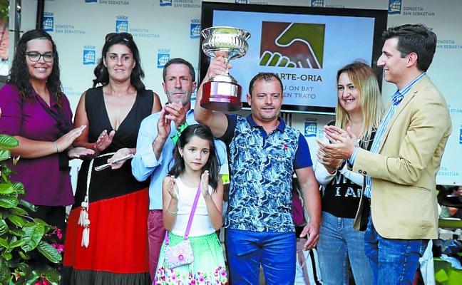 El premio Ayuntamiento de Lasarte-Oria se lo adjudicó 'Ce la Vie' (R. Sousa) de Pereira