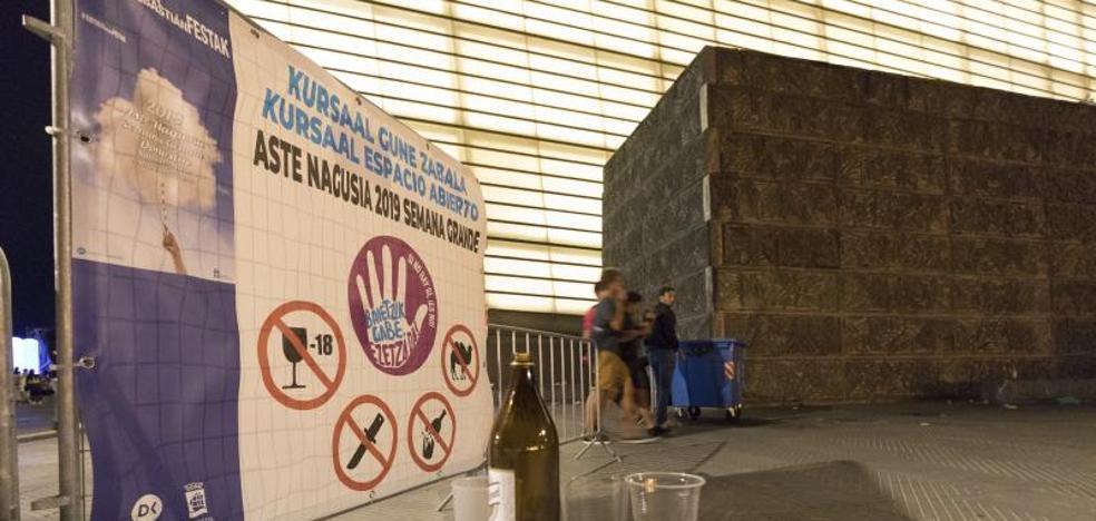 Clausuran dos bazares de alimentación por vender alcohol a menores en Semana Grande