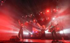Macaco cerró con éxito los conciertos de Sagüés