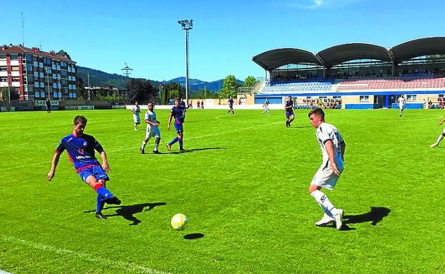 El Real Unión cierra la pretemporada con una derrota por 3-2 ante el Amorebieta