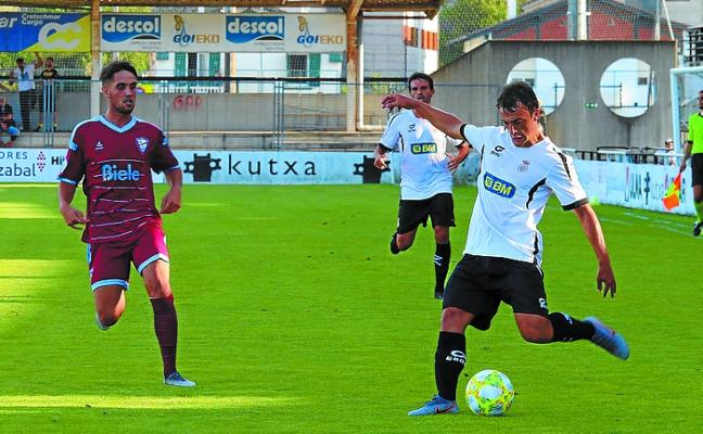 El Real Unión salió derrotado de su visita a Urritxe y ya piensa en el debut liguero