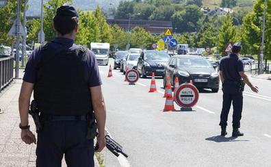 Francia se blinda por la cumbre del G-7 y pone en jaque la seguridad y la movilidad en Gipuzkoa
