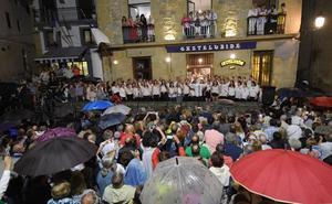 Gaztelubide celebró el Festara