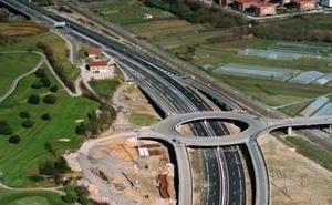 La carretera de Arrasate a Aramaio registrará cortes alternos los días 20 y 21 por obras