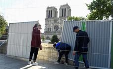 Reanudadas las obras de Notre Dame