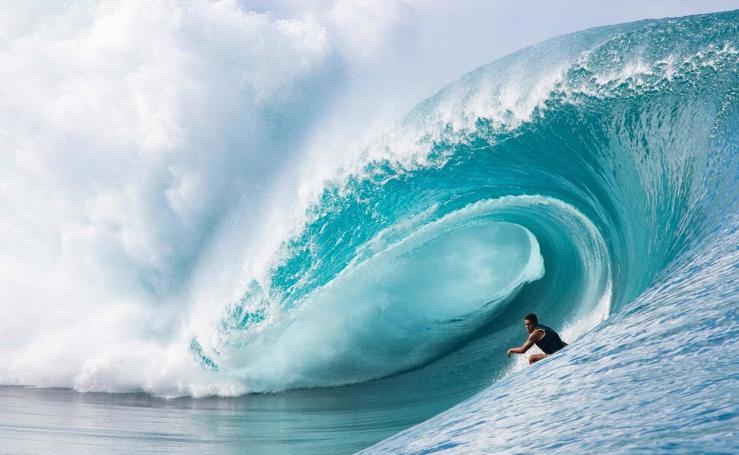 Tahití, el paraíso de los surfistas