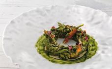 Receta de menestra de verduras de Martín Berasategui