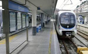 Euskotren supera los 250.000 viajeros en la Semana Grande de San Sebastián