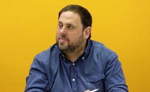 Junqueras no descarta elecciones en Cataluña tras la sentencia del 'procés'