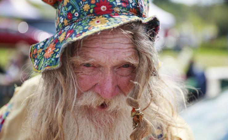 Los últimos hippies de Woodstock