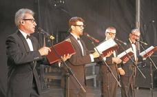 Golden Apple Quartet presenta en la plaza Urdanibia su 'Gran Selección'