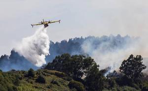El incendio de Canarias se debilita tras arrasar 12.000 hectáreas